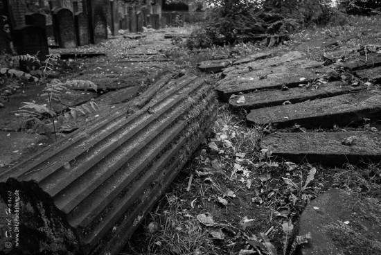 Der Jüdische Friedhof an der Königstraße in Hamburg-Altona