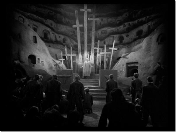 Die unterirdische Kapelle in Metropolis