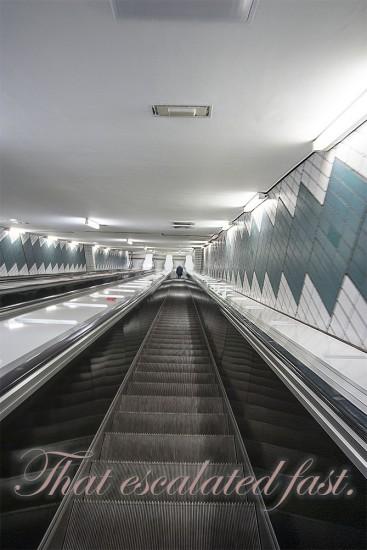 Escalator - Rolltreppe