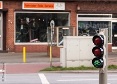 Green Lights for Bicycles