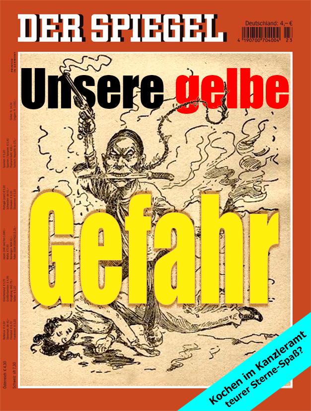 SPIEGEL-Cover 'Gelbe Gefahr'