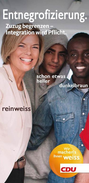 Motiv 'CDU und Julia Klöckner zu Integration und Flüchtlingen'