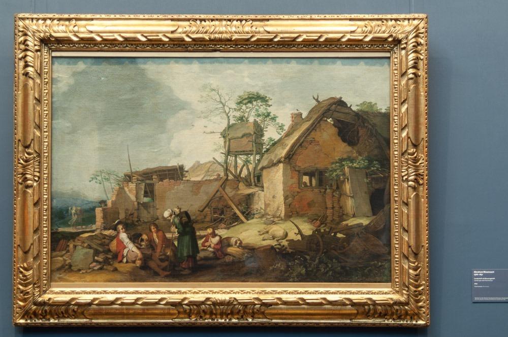 Abraham Bloemaert, Landschaft mit Gehöft
