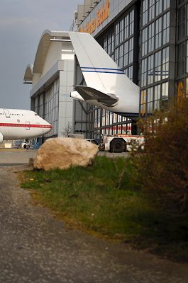 Flugzeuge in der Lufthansawerft