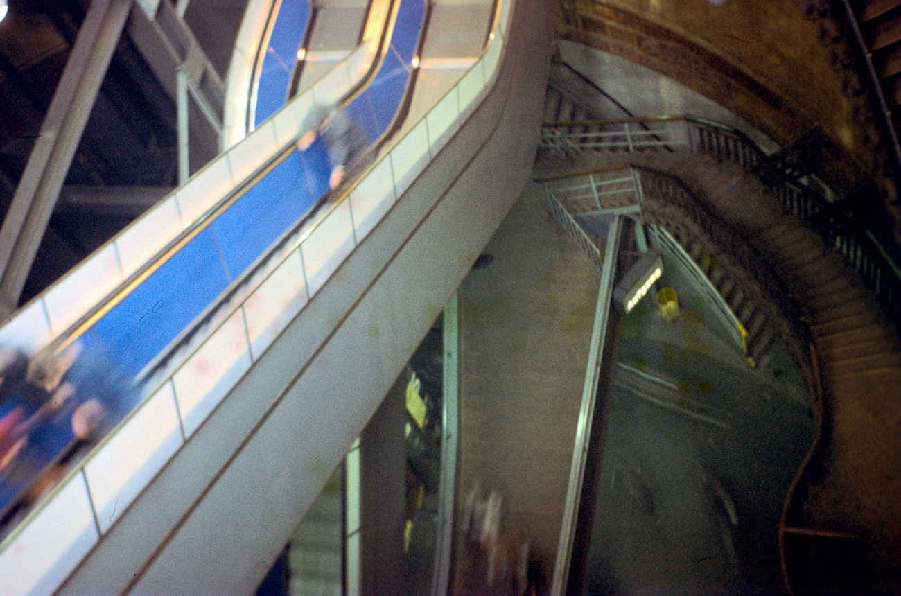 Once with Escalator