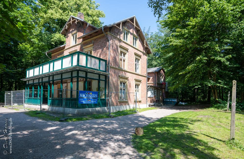 Die sanierte Mutzenbecher Villa im Niendorfer Gehege